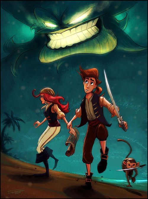 """""""The Horror of Monkey Island"""" by Dominus """"dominuself"""""""