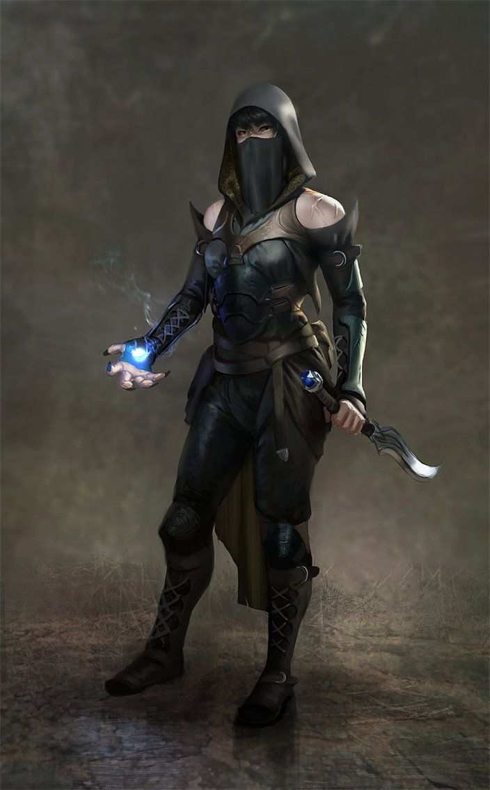 10 Character Design Tips : Stealth mage by adrian w on deviantart character ideas