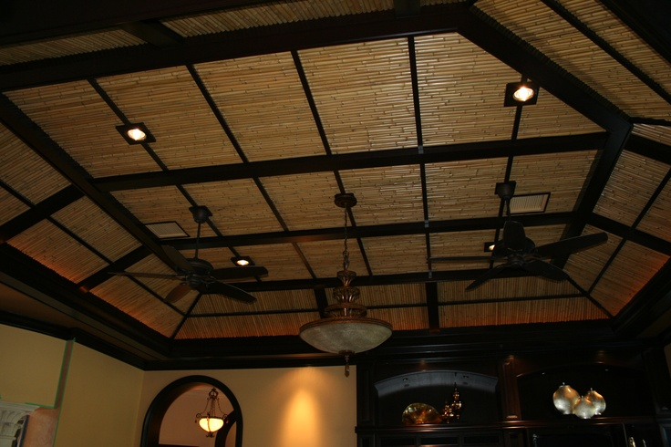 Bamboo Ceiling Bamboo Ceiling Diy Flooring Ceiling Design