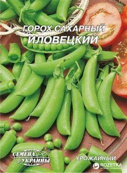 Семена гороха Гигант Горох сахарный Иловецкий 20 г (Семена Украины)