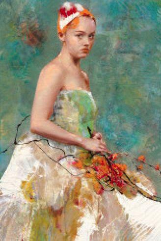 Fairy Flowers by Lita Cabellut