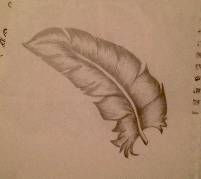 Just a feather...