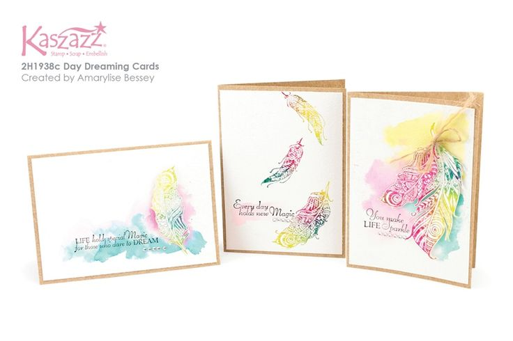 2H1938c Day Dreaming Cards