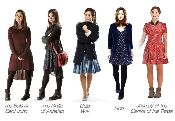 Clara oswald time of the doctor outfits