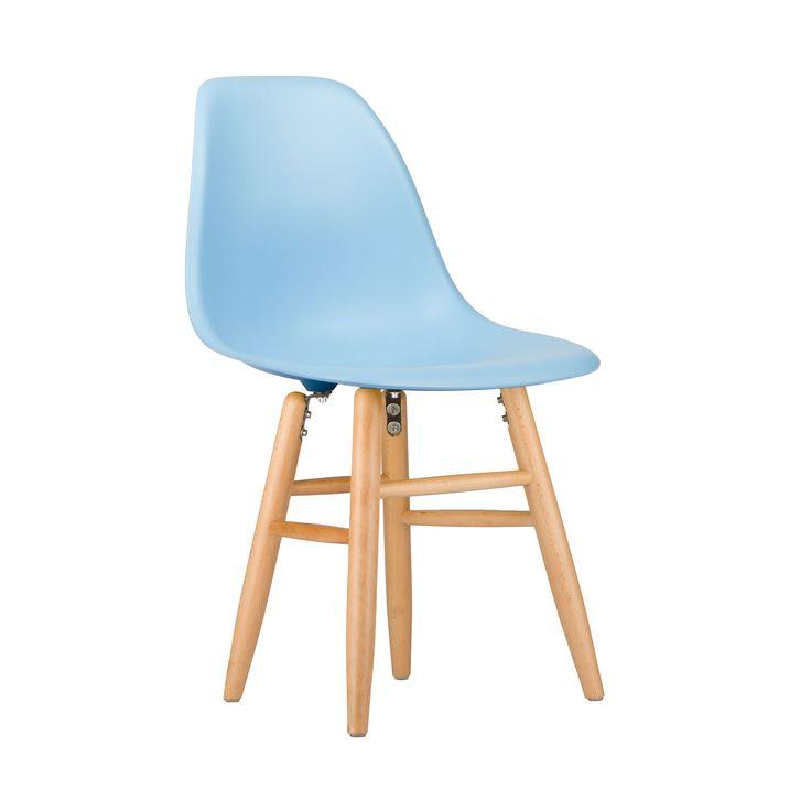 Shaker Slope Chair in Light Blue