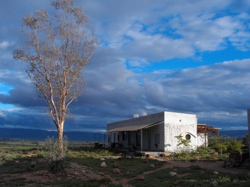 House of artists Judy Bumstead and Mike Sorenburg in Calitzdorp, South Africa. I took this photograph in 2009.