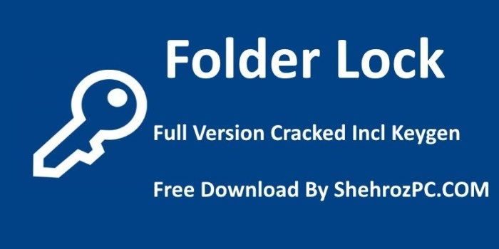 folder lock software free download with key