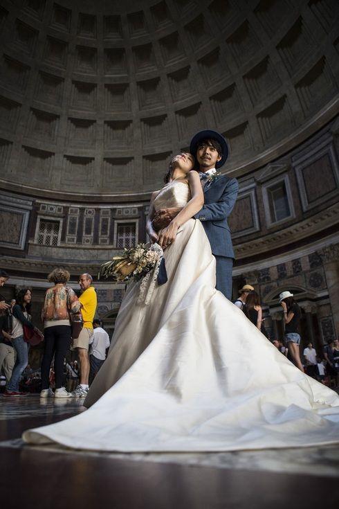 イタリアも絵になる♡海外の前撮りスポット一覧です。参考にどうぞ♡
