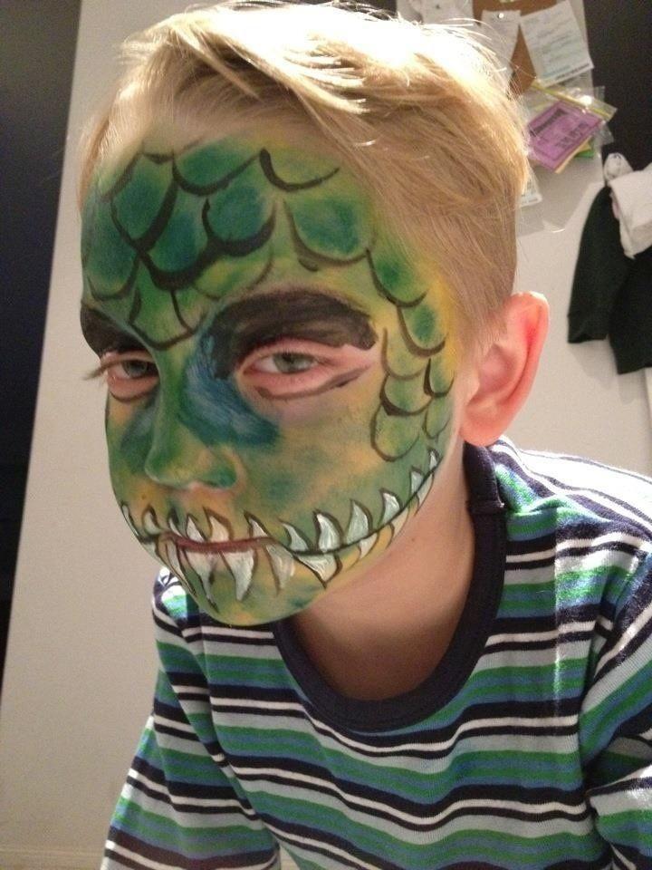 face paint crocodile - Sök på Google
