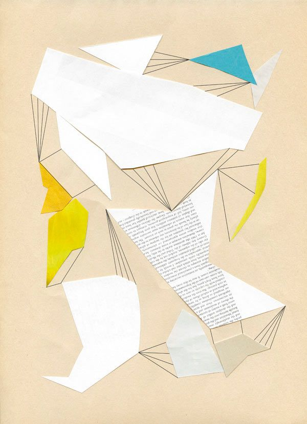 Constellations Geometric Collages by Chad Wys - Design Milk