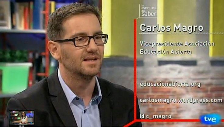 """""""Aprender no es aprobar exámenes"""". Carlos Magro (@c_magro), especialista en estrategia digital y educación, autor del blog co.labora.red (https://carlosmagro.wordpress.com/),"""