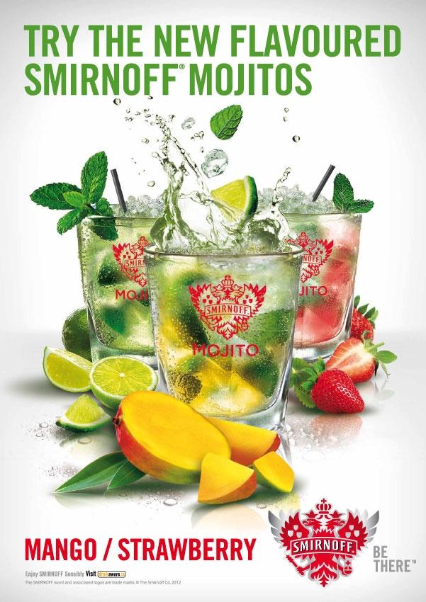 Key Visual SMF Mojito Flavours 2012