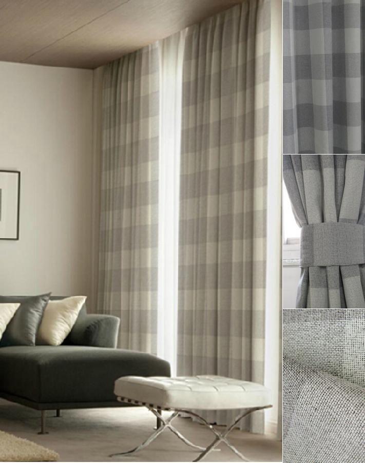 25 Best Ideas About Plaid Curtains On Pinterest Plaid Living Room Farmhouse Drapery Fabric
