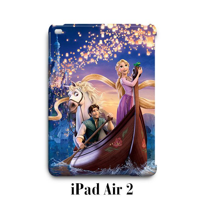 Tangled Rapunzel Princess iPad Air 2 Case Cover Wrap Around