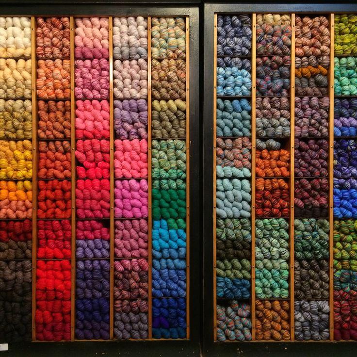 Knitting Supplies Storage Ideas : Best images about muebles para mercerias on pinterest