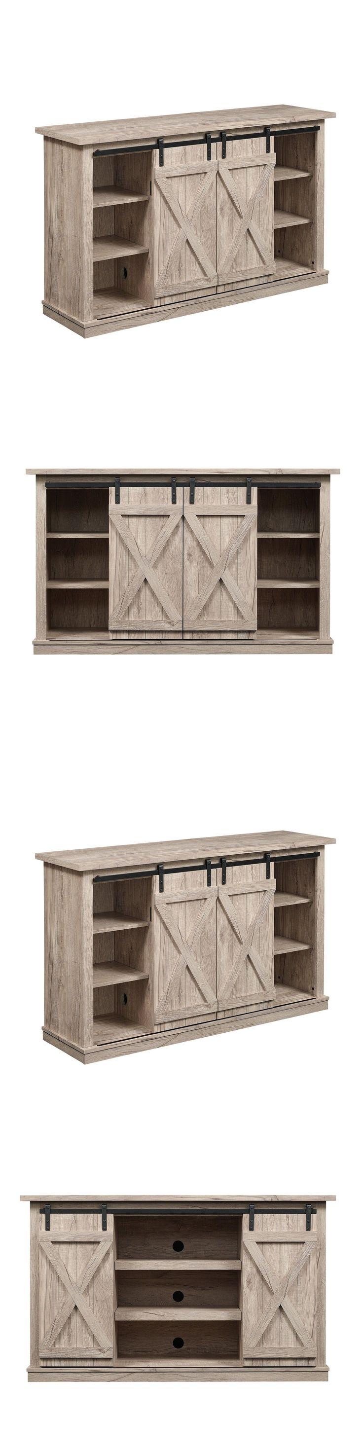 Home shop live tv stands chunky stretch tv stand - Entertainment Units Tv Stands 20488 Rustic Entertainment Center Tv Stand Console Wood Dorm Living Room