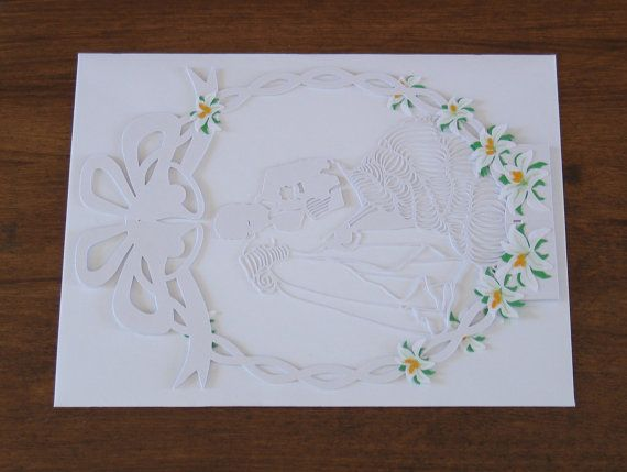 Wedding Card Congratulations Congratulations Card by NineFingerJo