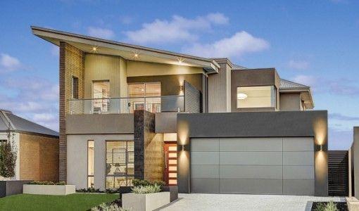 17 melhores imagens sobre fachadas de casas modernas for Materiales para pisos exteriores