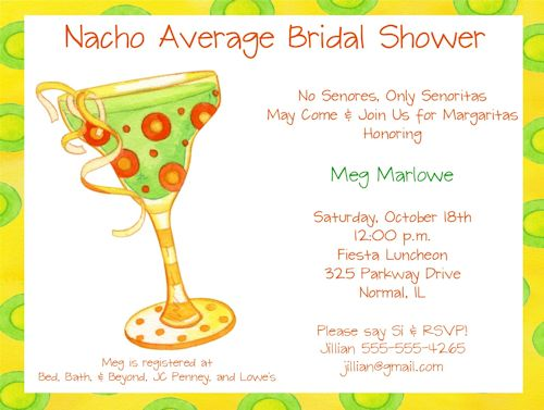 17 Best Images About Nacho Ordinary Bridal Shower Ole On