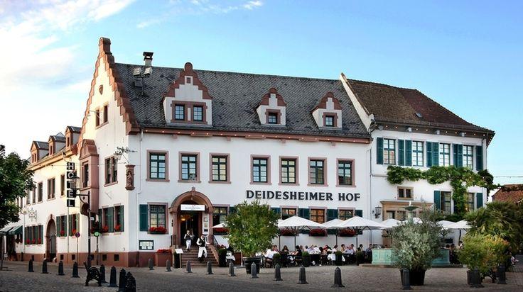 Hotel Deidesheimer Hof in Deidesheim, 5 Sterne Hotel, nahe Rhein-Main-Gebiet