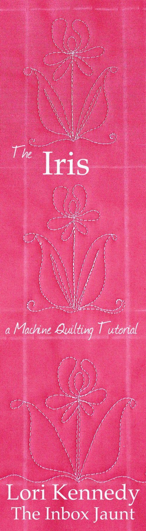 Machine Quilting Tutorials FREE Lori Kennedy The Inbox Jaunt