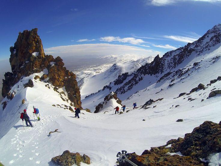 Hasan Dağı Kış Tırmanışı 8.3.2015