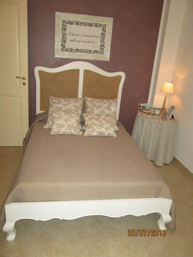 stanza da letto stile provenzale