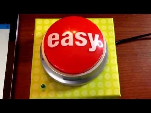 """Create a case in salesforce.com by pressing a Staples """"easy"""" button."""