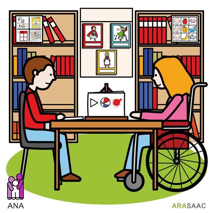 Evitar las estanterías y bibliotecas cerca de las personas con movilidad reducida o con discapacidad.