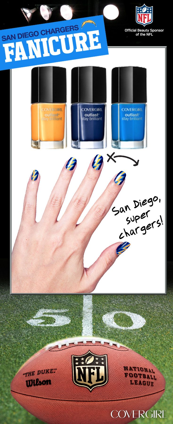 San Diego, super Chargers!
