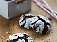 Biscotti screpolati - chocolate crinkles