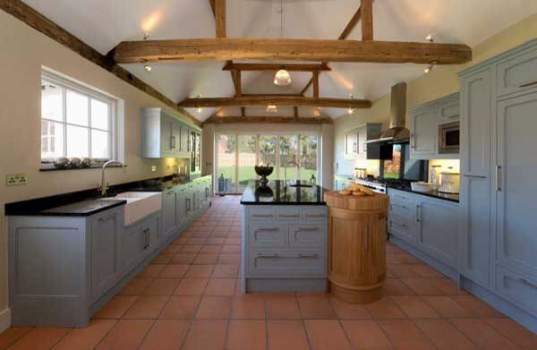 Interiors with vaulted ceilings