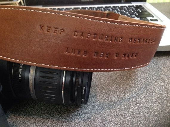 Leather Camera Strap,Custom Camera Strap,Personalized Camera Strap,Nikon Camera Strap,Canon Camera Strap,Sony Leica DSLR SLR Camera Strap, on Etsy, $59.99