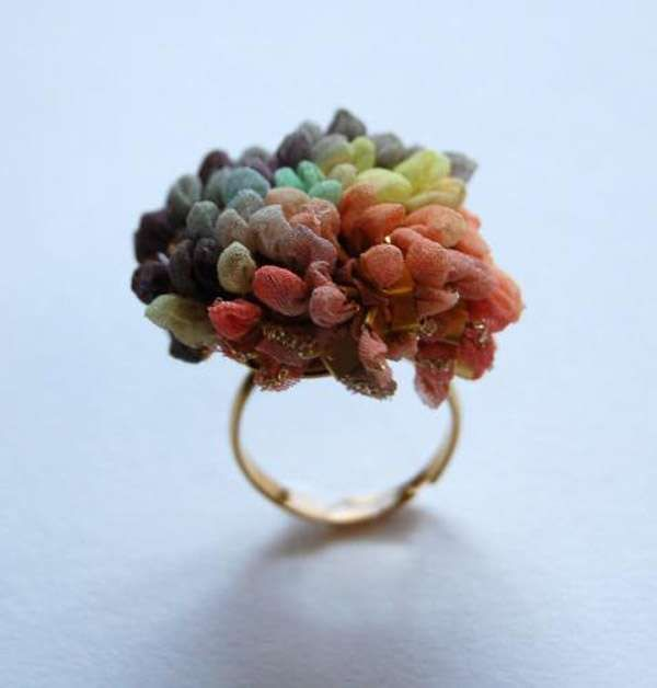 The Elinor Voytal Knit Jewelry Collection Features Crocheted Accessories #Jewelry trendhunter.com