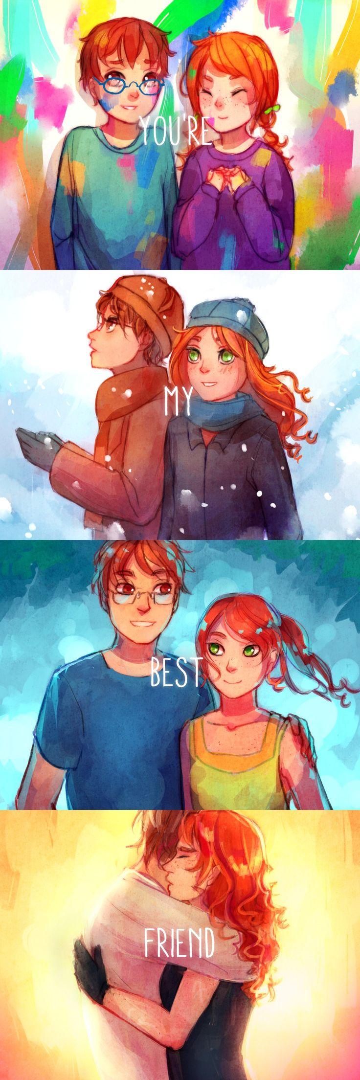 Clary & Simon  MEJORES AMIGOS POR SIEMPRE!