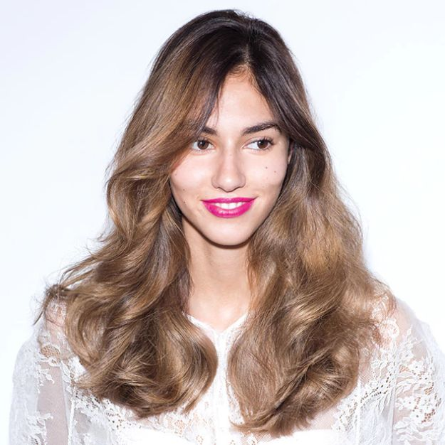 Make your style last longer this holiday season with dry shampoo! Hold Bumble and bumble. Pret-a-powder Tres Invisible (Nourishing) Dry Shampoo 10-12 inches away from dry hair, and apply to absorb oil at the roots and nourish dry ends. Use fingers to distribute from roots to ends – taking second day hair to the next level!