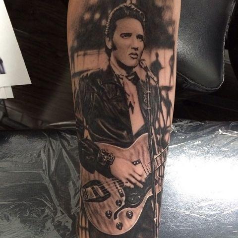 2279 best rockabilly tattoos images on pinterest tattoo for Elvis presley tattoos