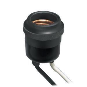 Leviton, Weatherproof Socket - Black, R60-00055-000 at The Home Depot - Mobile