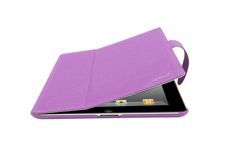 This cover combines a sleek fabric covered design to protect and a built in stand to display your iPad Mini in a unique way. Price: $50.00. Purple is associated with wisdom, dignity, independence, creativity, mystery, and magic. #purple #colour #colourpsychology #case #cover #ipadmini #sprout #freedomtogrow #photooftheday #cute