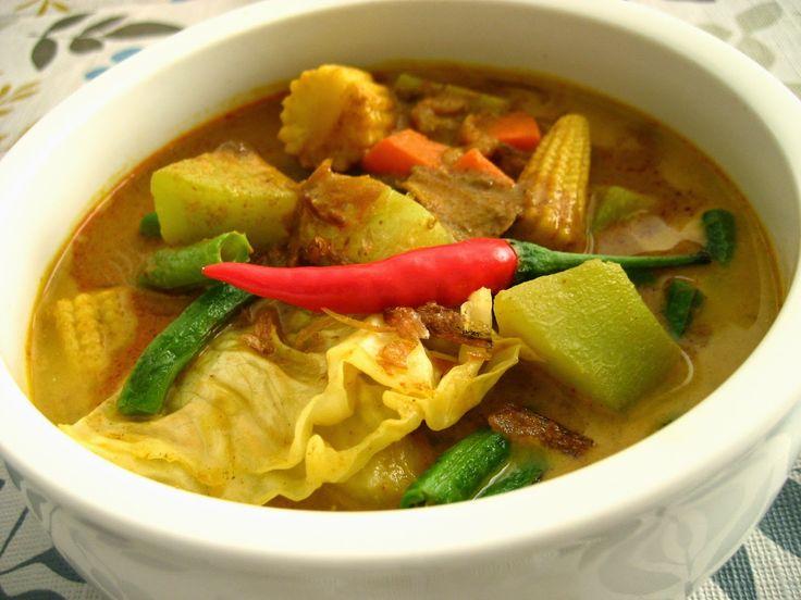 Resep dan Cara Memasak Sayur Lodeh Labu Siam yang Enak, Gurih dan Sederhana
