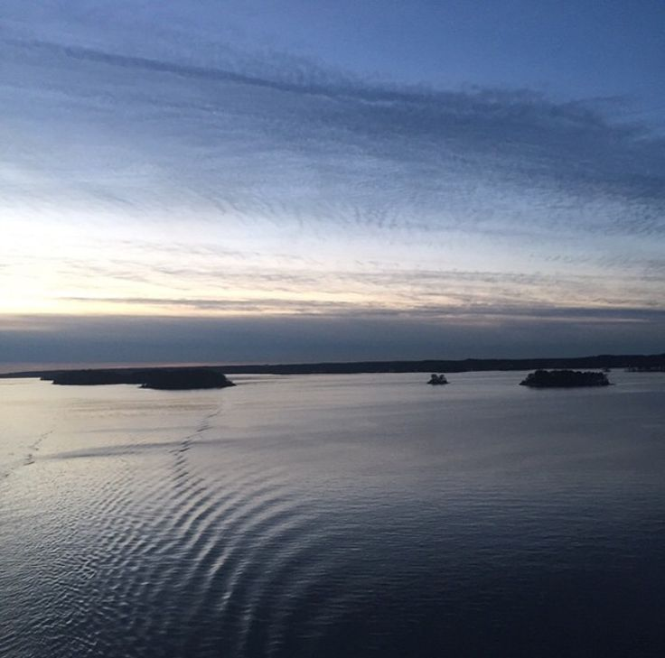 Baltic sea (C) Klaid-Erik Lanna #balticsea #boat #sky #sweden