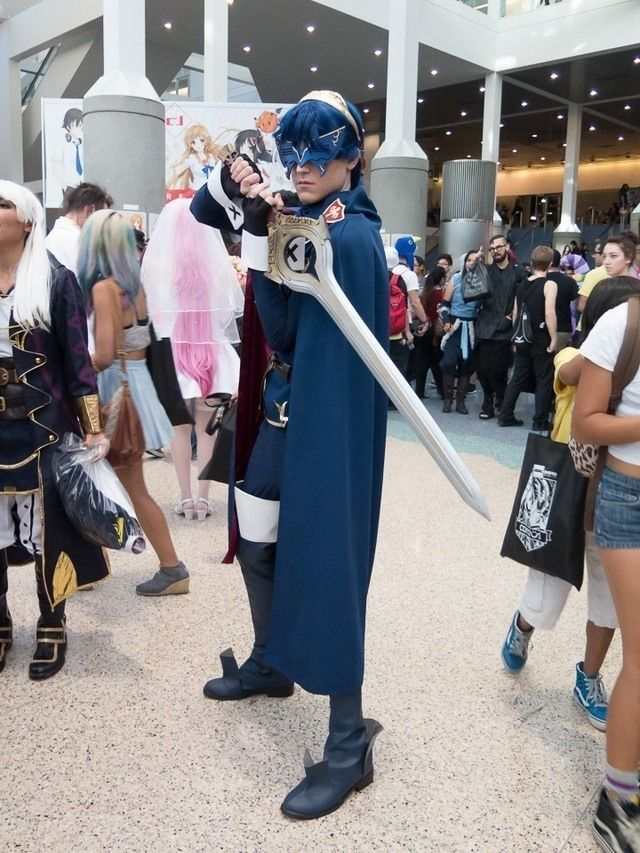 """Marth"" (Fire Emblem Awakening) – Anime Expo 2015 – IGN"