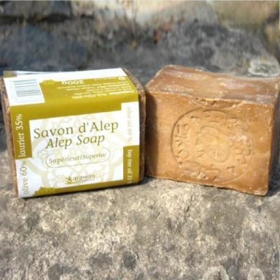 une recette maison de savon d'alep