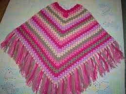 Poncho de lana lindo para ni a buscar con google - Como hacer punto de lana para principiantes ...