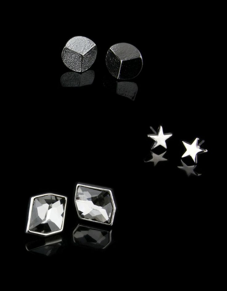 Kardashian Trio Stud Earrings