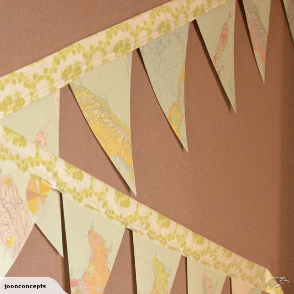 Bunting. Artisan Upcycle, Atlas | Trade Me