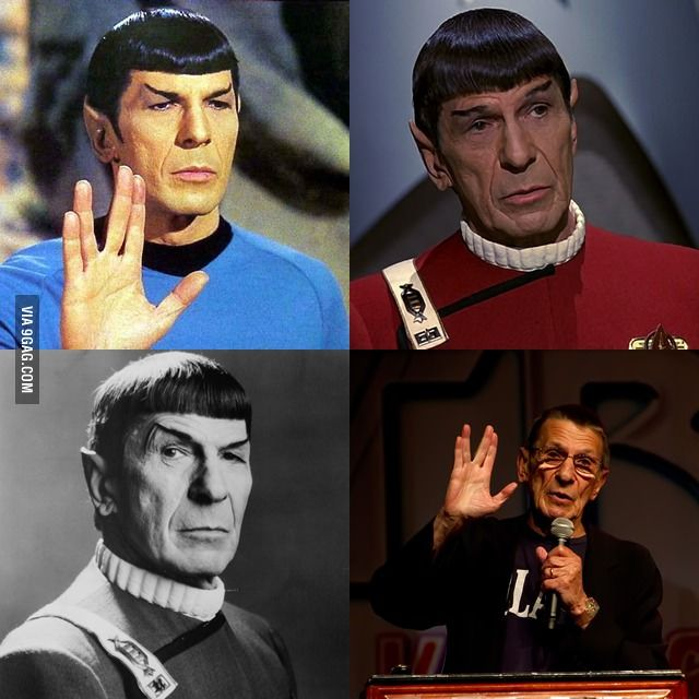 Live long and prosper RIP Spock