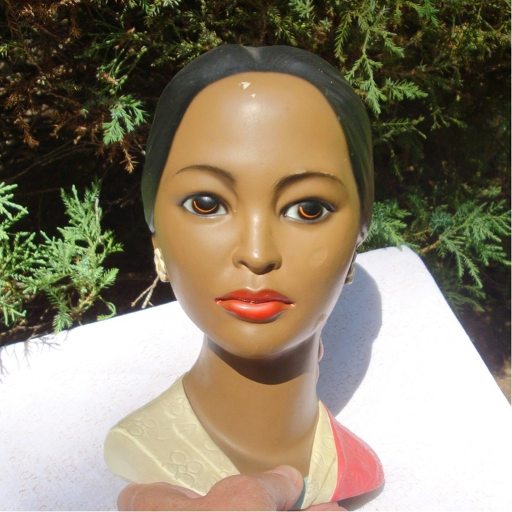 1000 Images About Chalkware Bust On Pinterest Art Deco