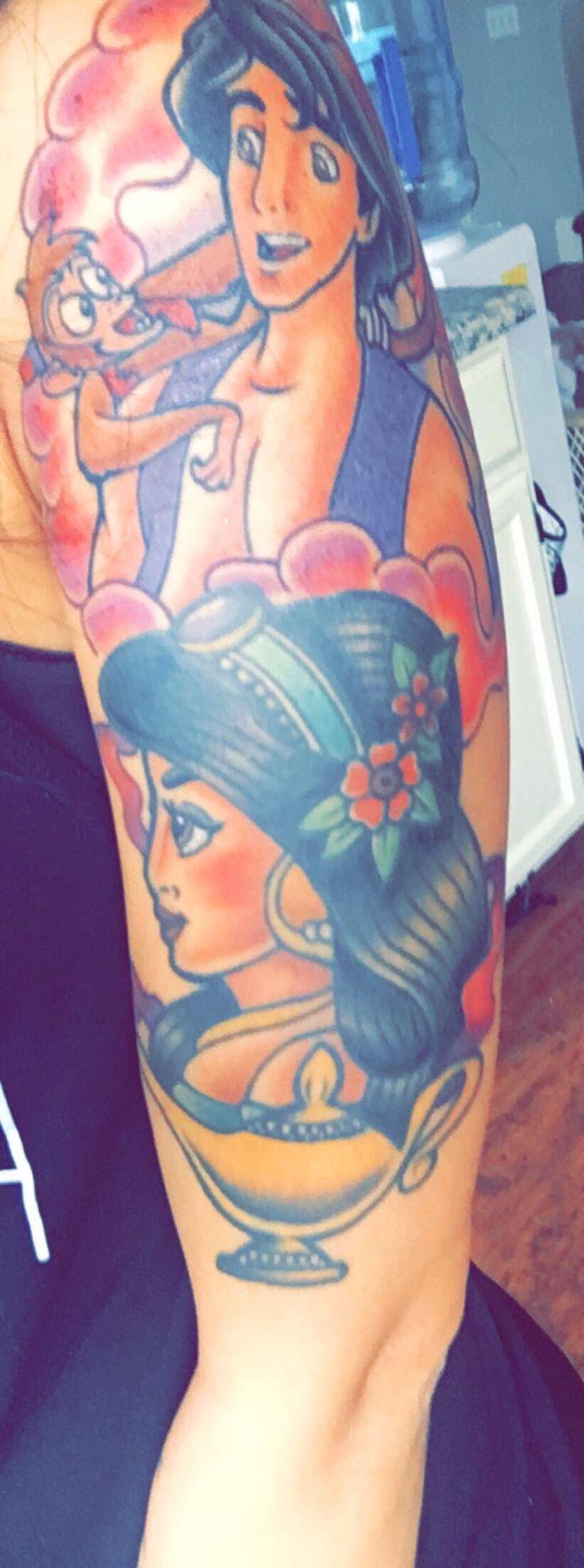17 best ideas about jasmine tattoo on pinterest jasmin for Aladin tattoo salon