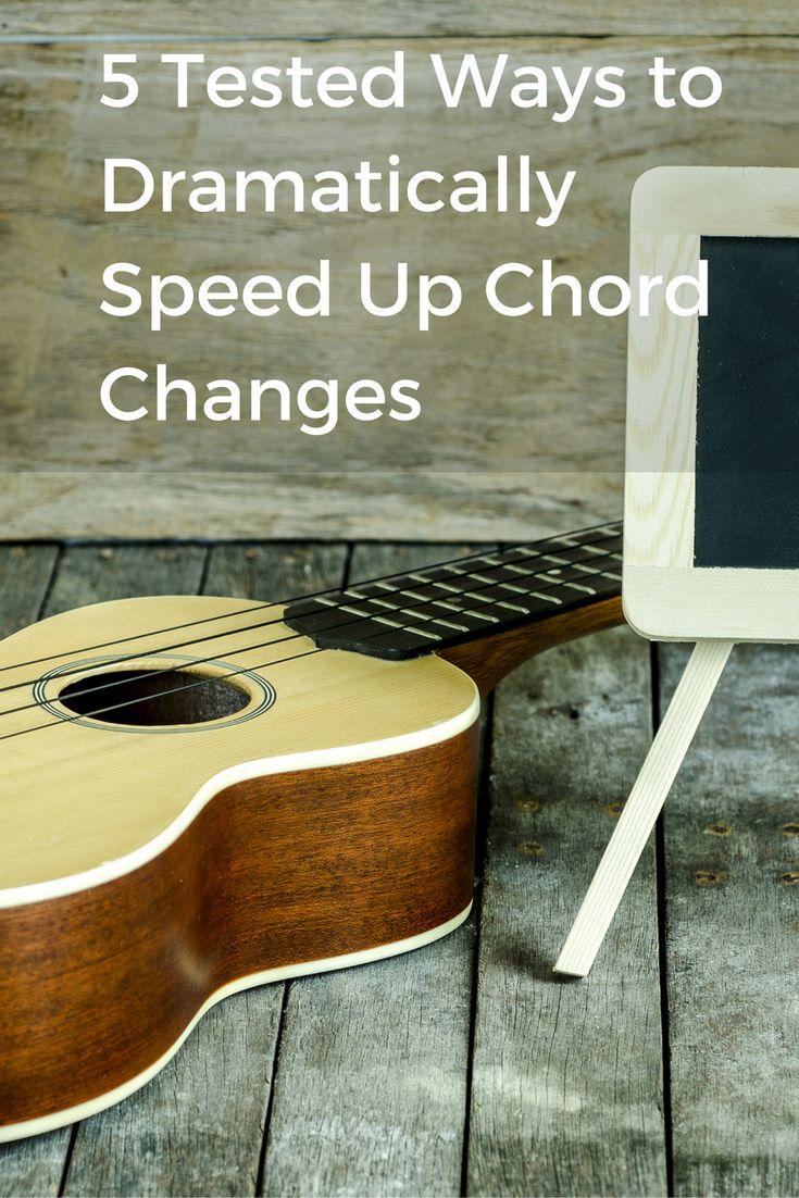94 best ukulele images on pinterest ukulele guitars and banjo 5 tested ways to dramatically speed up ukulele chord changes hexwebz Images